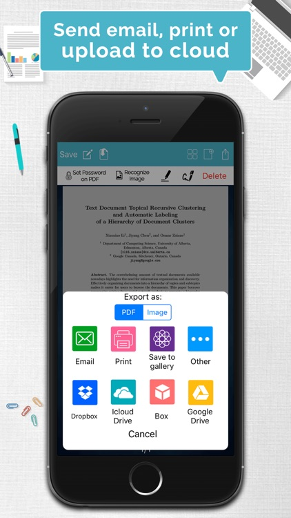 Tom Scanner Pro - PDF document scanner with OCR screenshot-3