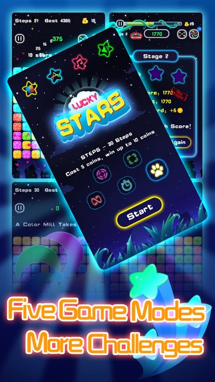 Lucky Stars HD - Pop All Twinkle Little Stars! 满天星