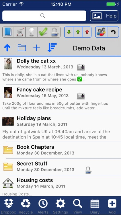 iDo Notepad Pro (Journal/Diary) screenshot-0