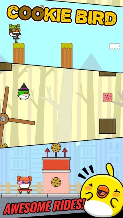 Cookie Bird Adventures