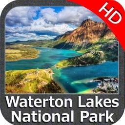 Waterton Lakes NP HD GPS charts Navigator