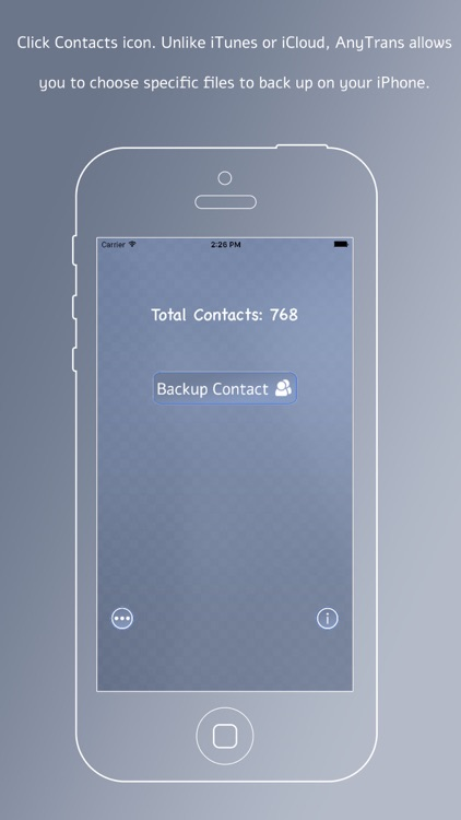 Contact Backup - Secure Your Contact
