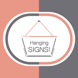 Hang a Sign! II (Mauve/Dark Bluish-Gray)