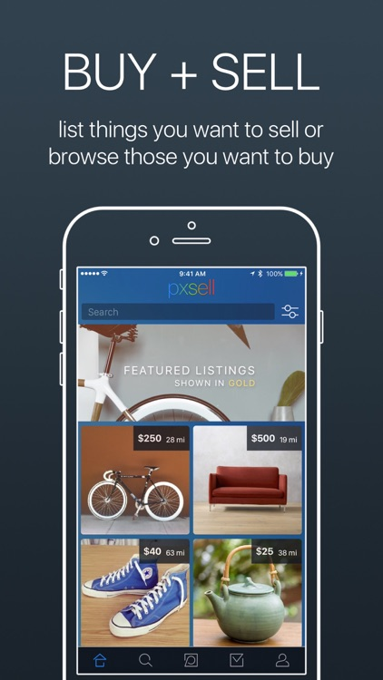Pxsell: Buy & Sell Your New & Used Stuff