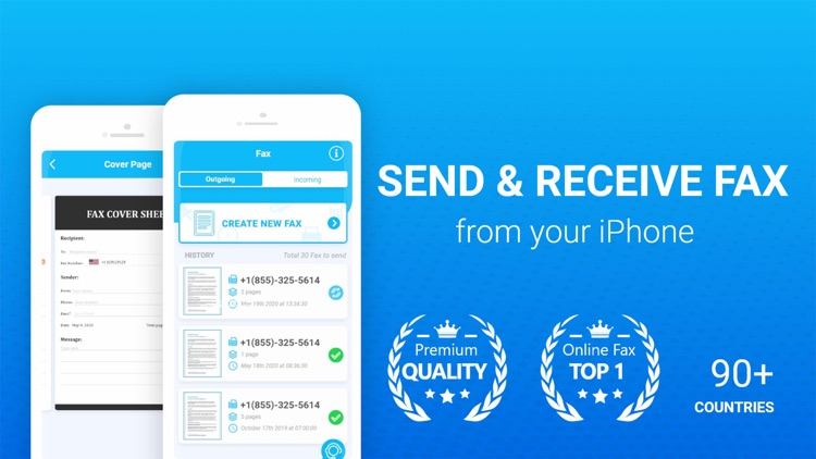 Fax - Send & Receive Fax App screenshot-0