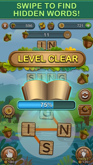Word Forest: Word Games Puzzle screenshot 2