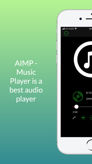 Screenshot of AIMP - Music Player App