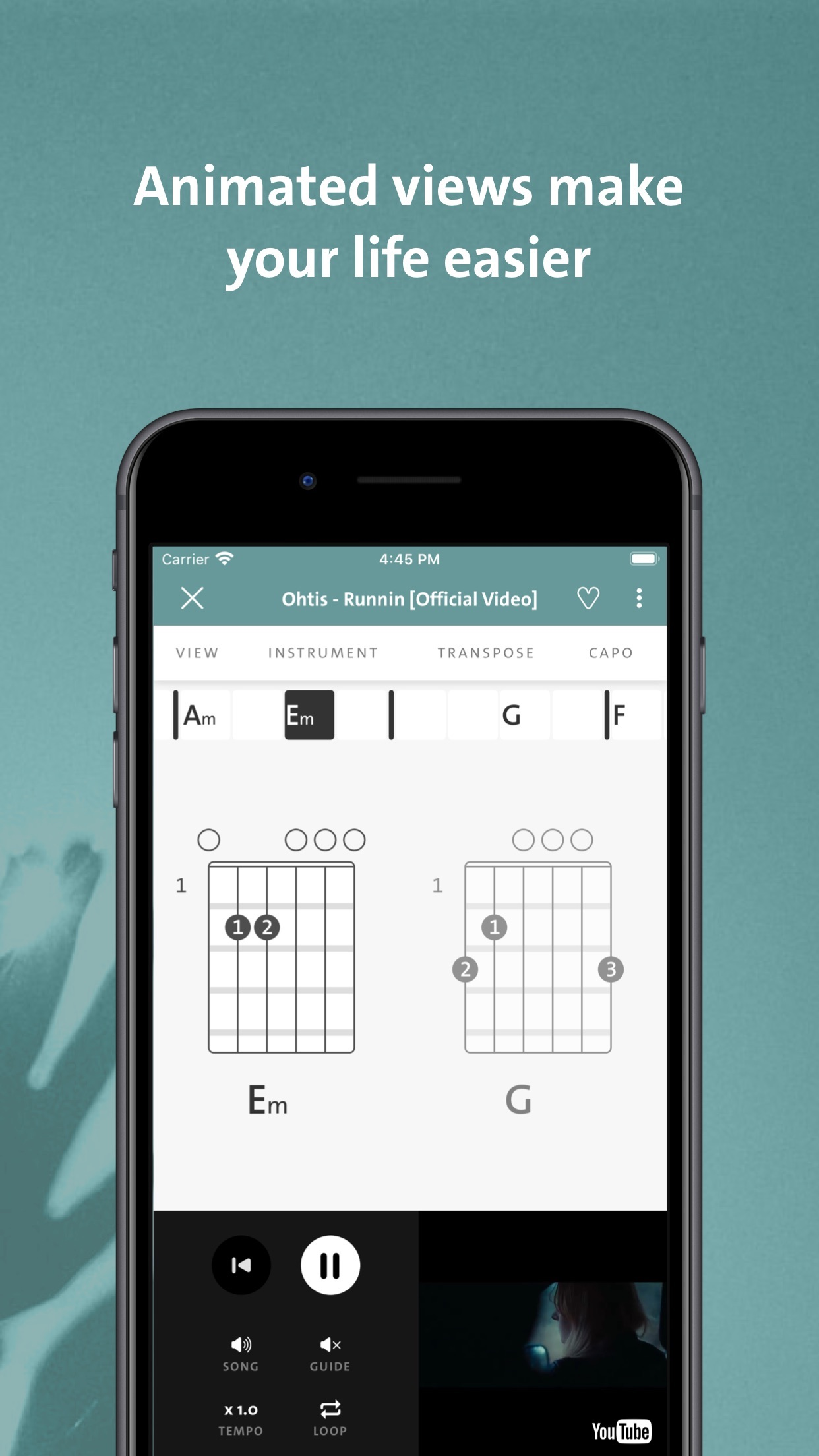 Chordify - Chords for Any Song Screenshot