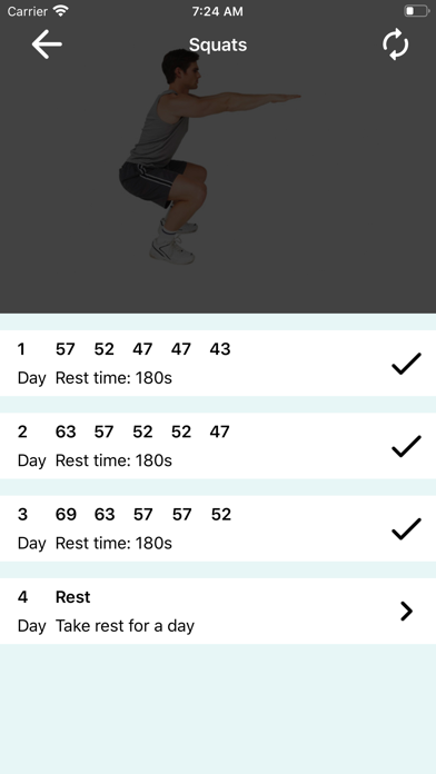 200 Squats Challenge screenshot 5