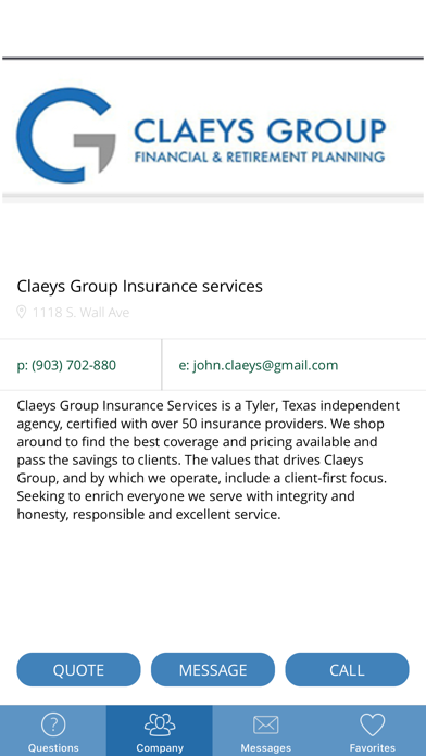 Claeys Group screenshot 5