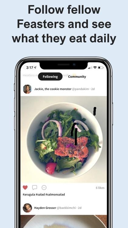 Feast - Mindful Eating screenshot-7