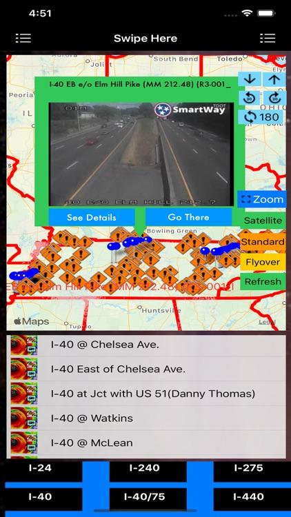 Traffic Cameras Tennessee Pro