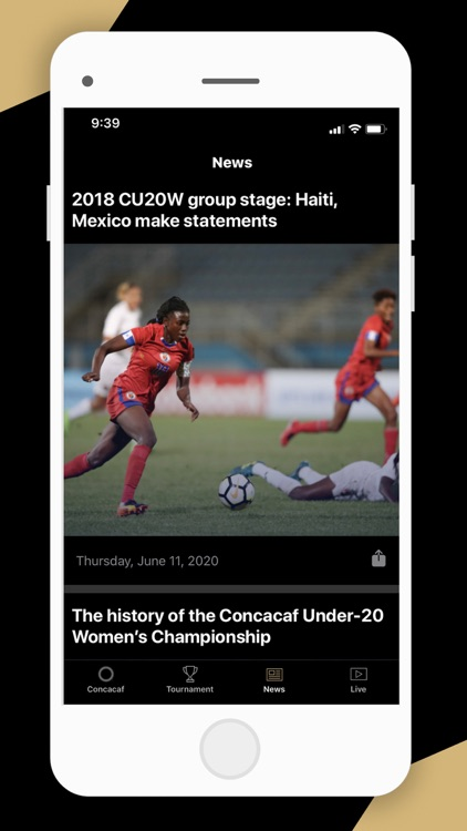 CONCACAF Official App
