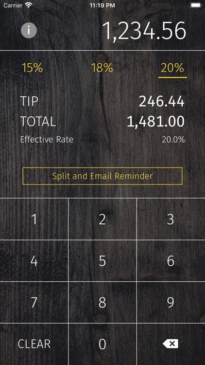 Easy Squeezy - Tip Calculator