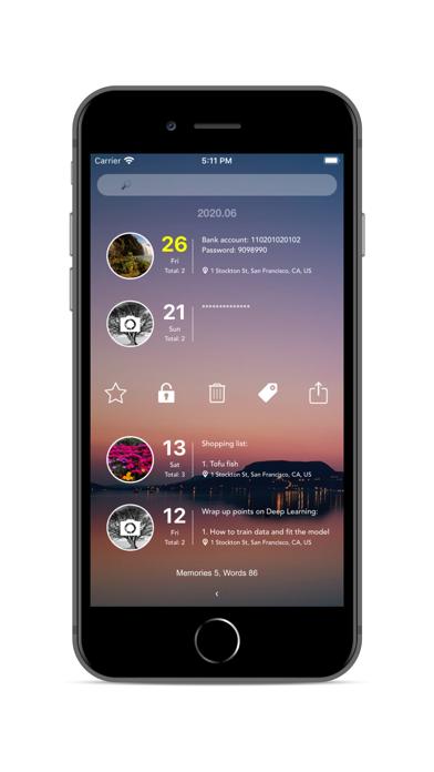 u.Memory Screenshots