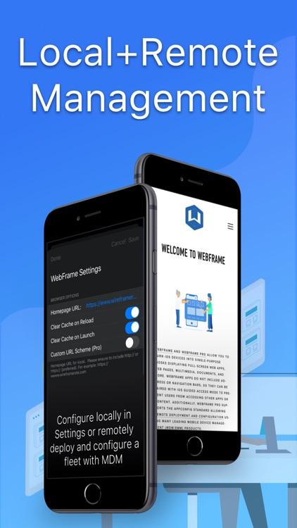 WebFrame Pro Kiosk screenshot-4