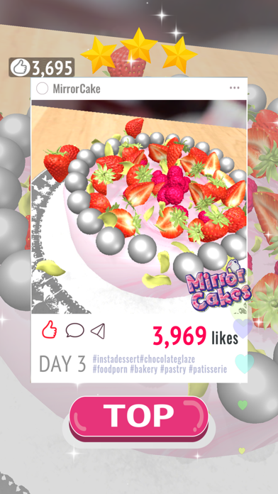 Mirror cakes screenshot 9