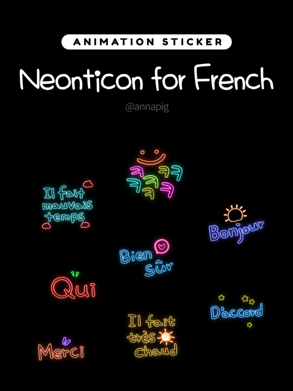 Neonticon for French screenshot 4