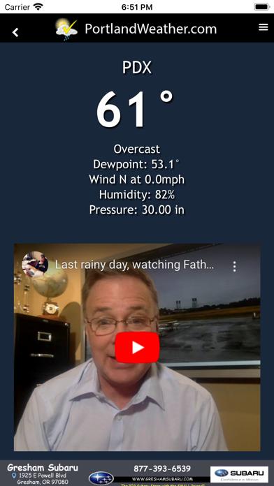 Portland Weather Appのおすすめ画像2