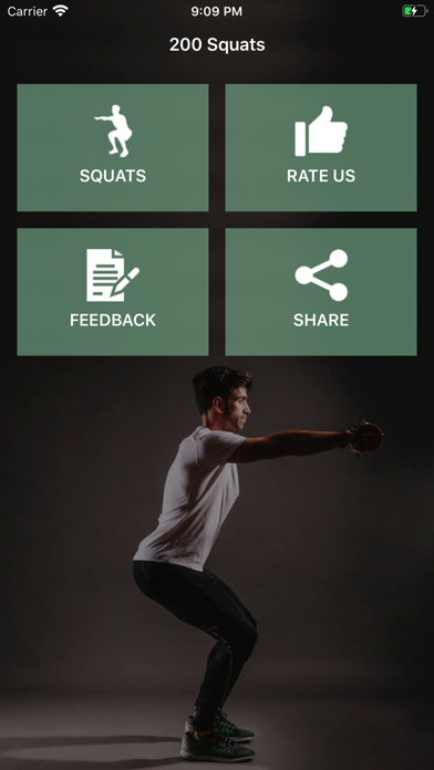 200 Squats Challenge screenshot 2