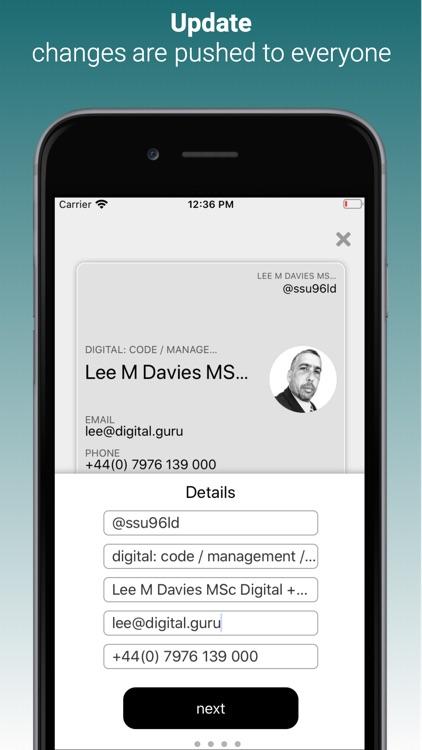 Wallet Business Card screenshot-3