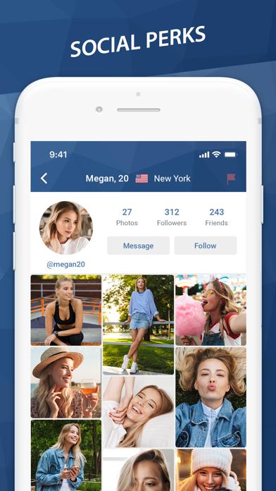 Minichat - video chat, texting для ПК