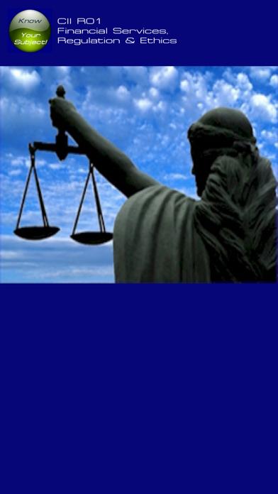 R01 Fin Services Regs & Ethics screenshot 1