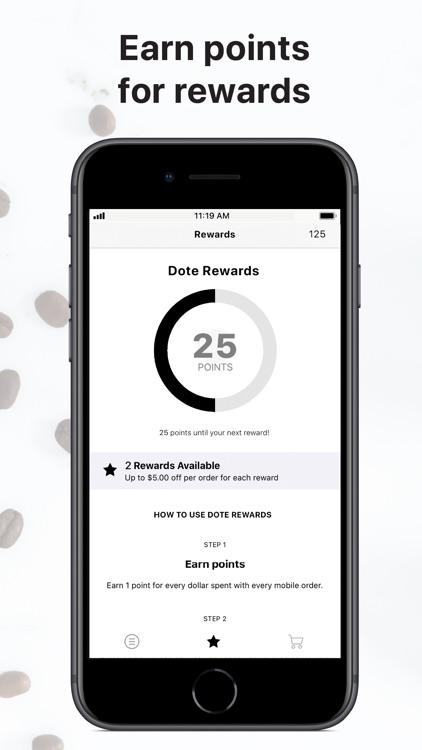 Dote Coffee Bar screenshot-3