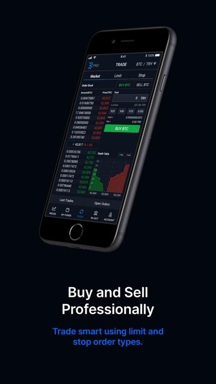 BtcTurk | PRO Buy-Sell Bitcoin screenshot-4