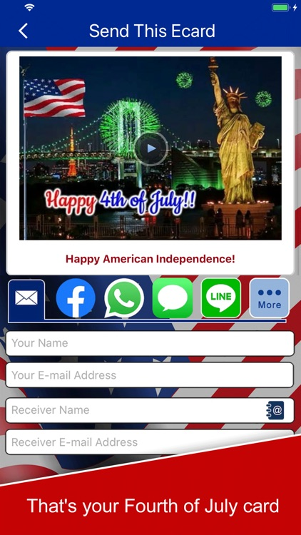 4th of July eCards & Wishes screenshot-3