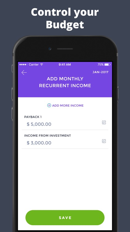Budget App screenshot-1
