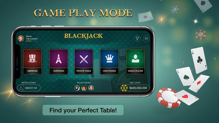 Blackjack strategy trainer app