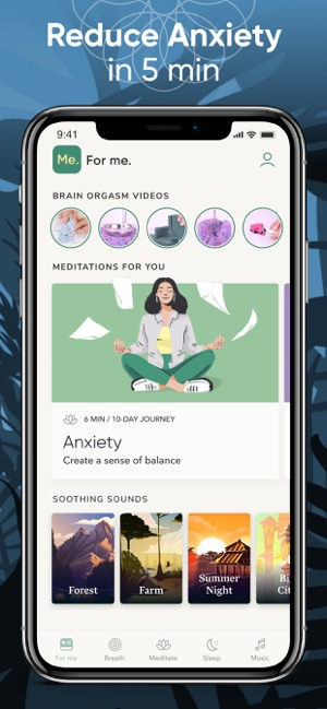 ‎BetterMe: Meditation & Sleep Screenshot
