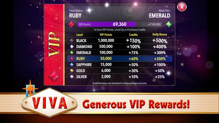 Viva Slots Vegas Slot Machines screenshot-6