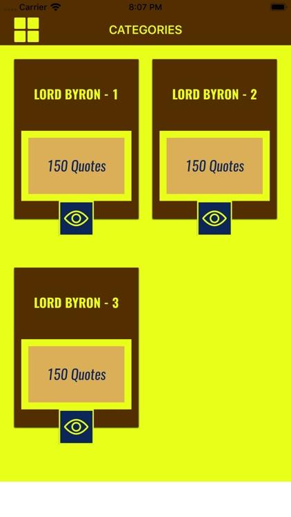 Lord Byron Wisdom
