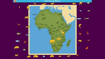 Montessori Animals of Africa screenshot 6