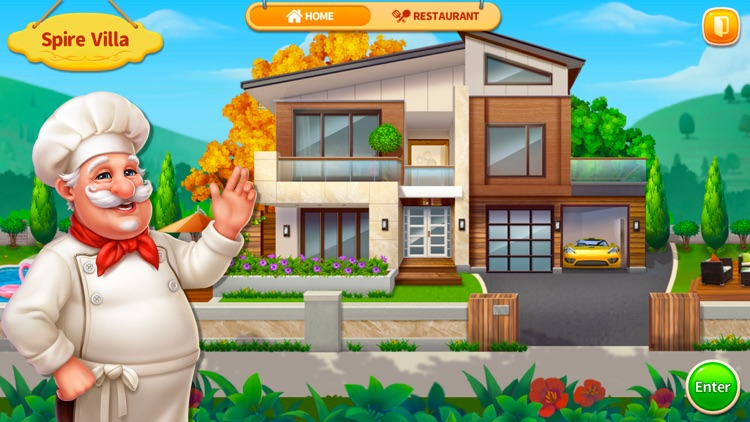 Cooking Home: Restaurant Games