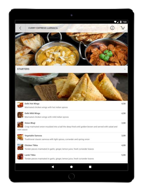 Curry Express Larnaca screenshot 7