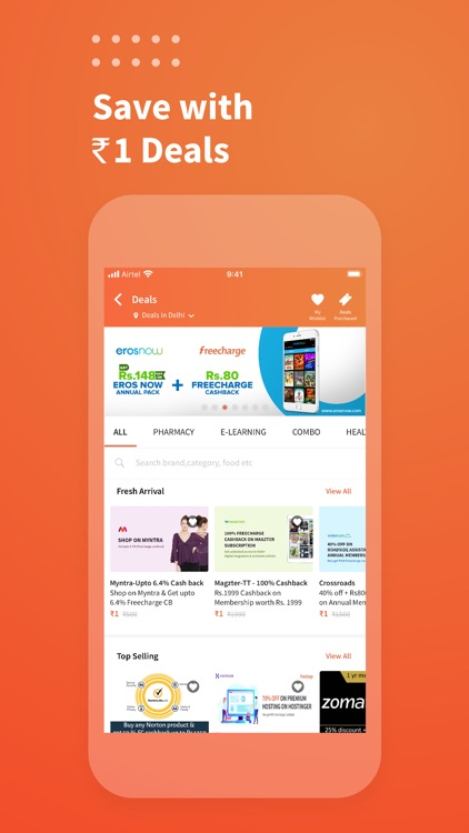 Freecharge: Payments & Finance screenshot-3