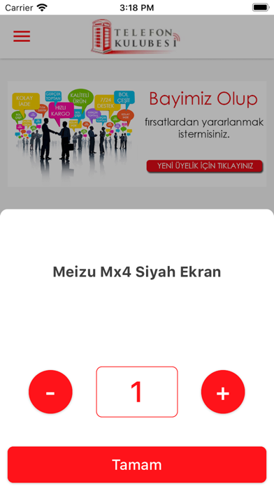 Telefon Kulubesi Screenshot