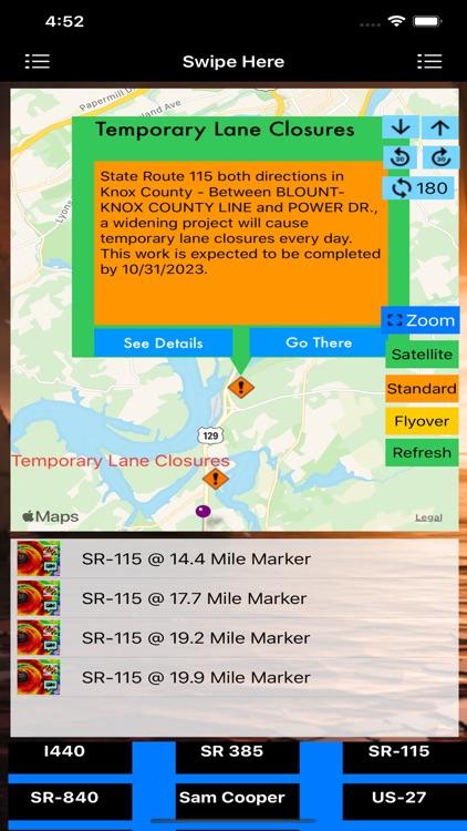 Traffic Cameras Tennessee Pro screenshot-4