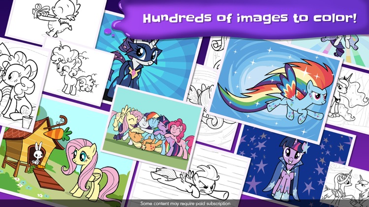 My Little Pony Color By Magic screenshot-4