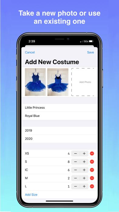 Costumize - Digital Inventory screenshot 2