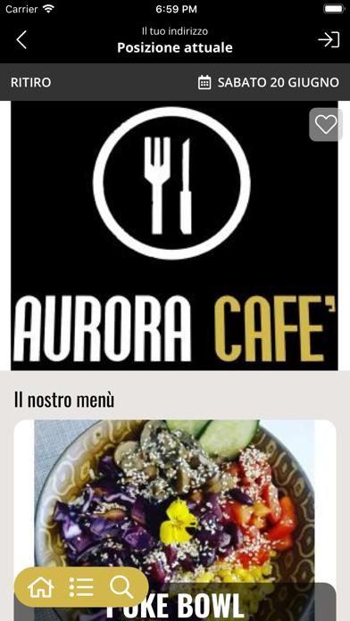 Aurora cafè screenshot 2