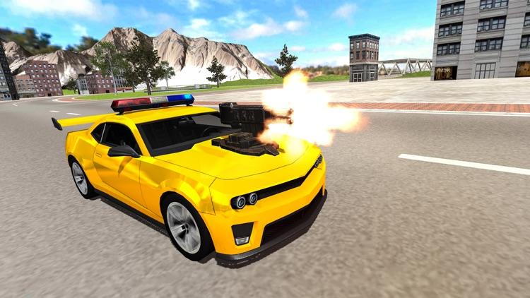 Undercover Police Car Shooting screenshot-4