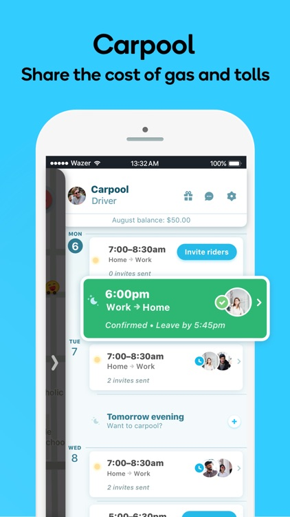 Waze Navigation & Live Traffic screenshot-7
