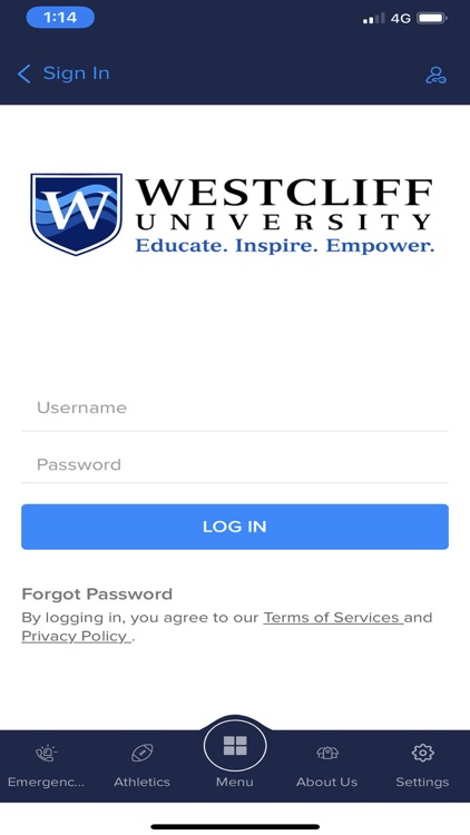 Westcliff University screenshot-2