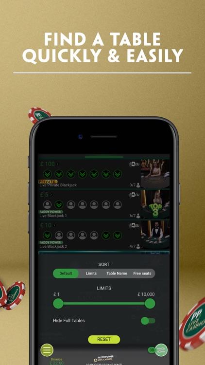Paddy Power Live Casino screenshot-3