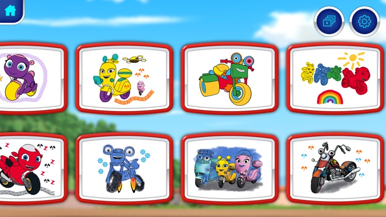 Ricky Zoom™: Paintbox screenshot-5
