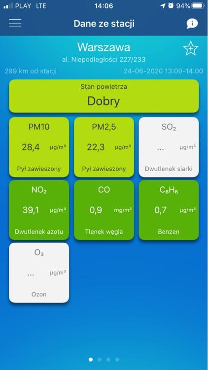 Jakosc powietrza w Polsce
